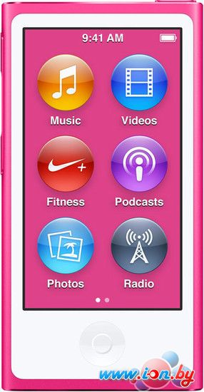 MP3 плеер Apple iPod nano 16GB Pink (7th generation) [MKMV2] в Могилёве