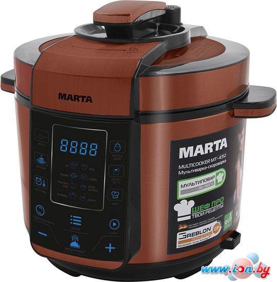 Мультиварка-скороварка Marta MT-4312 черный/красный в Могилёве