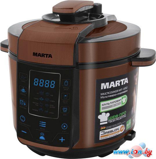 Мультиварка-скороварка Marta MT-4312 черный/медь в Могилёве