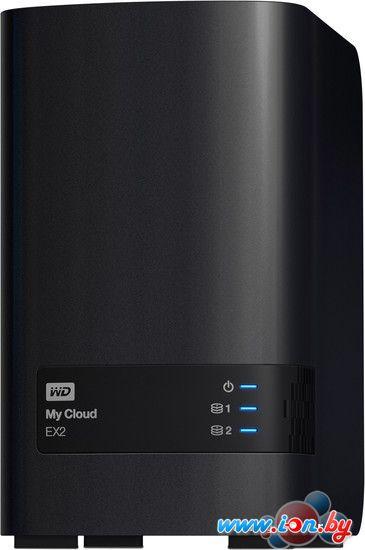 Сетевой накопитель WD My Cloud EX2 6TB (WDBWAK0060JCH-EEUE) в Могилёве