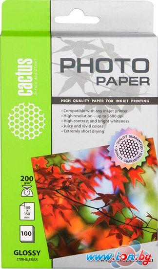 Фотобумага CACTUS Глянцевая A6 200 г/кв.м. 100 листов (CS-GA6200100) в Могилёве