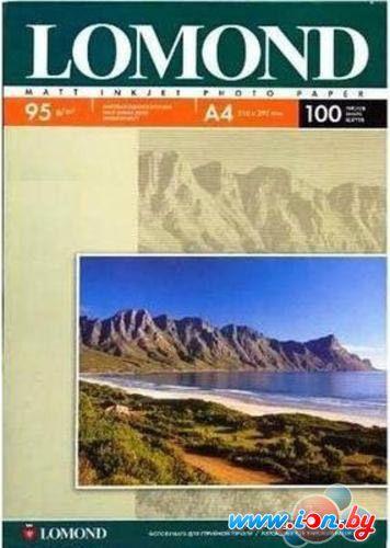Фотобумага Lomond матовая односторонняя A3 95 г/кв.м. 100 листов (0102129) в Могилёве