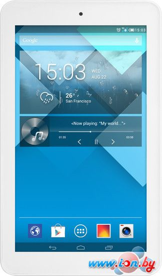 Планшет Alcatel OneTouch Pop 7 4GB 3G White (P310X) в Могилёве