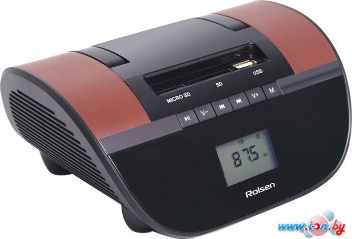 Портативная аудиосистема Rolsen RBM-413 brown в Могилёве