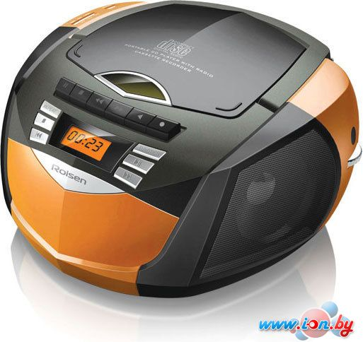 Портативная аудиосистема Rolsen RBM-214MUR Orange-Black в Могилёве