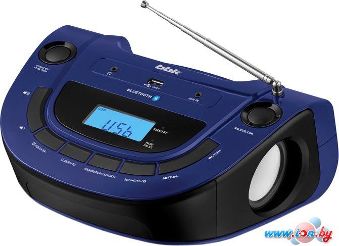 Портативная аудиосистема BBK BS07BT (темно-синий) в Могилёве