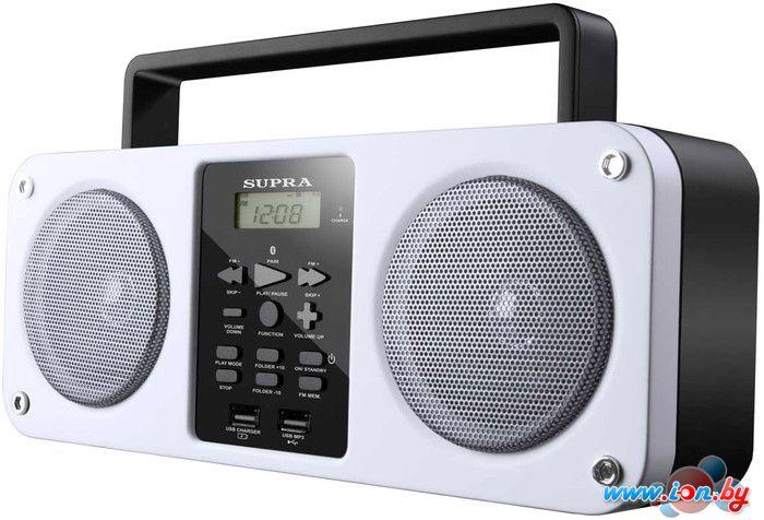 Портативная аудиосистема Supra BB-M102UB White в Могилёве