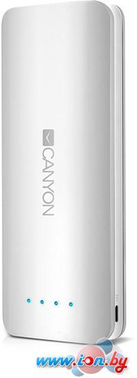 Портативное зарядное устройство Canyon CNE-CPB156 (белый) в Могилёве