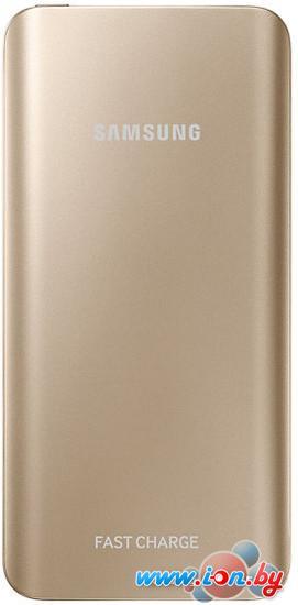 Портативное зарядное устройство Samsung EB-PN920 Gold в Могилёве