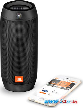 Портативная колонка JBL Pulse 2 Black [JBLPULSE2BLKEU] в Могилёве