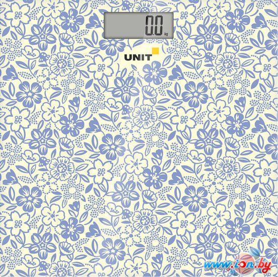 Напольные весы UNIT UBS-2051 (голубой) в Могилёве