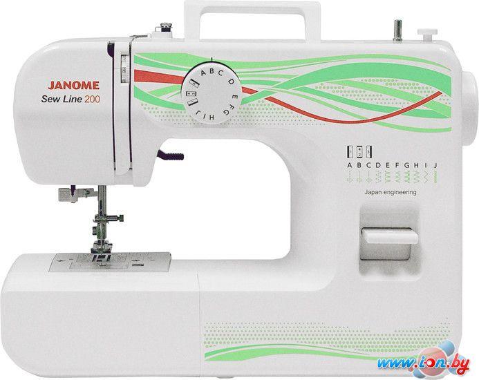 Швейная машина Janome Sew Line 200 в Могилёве