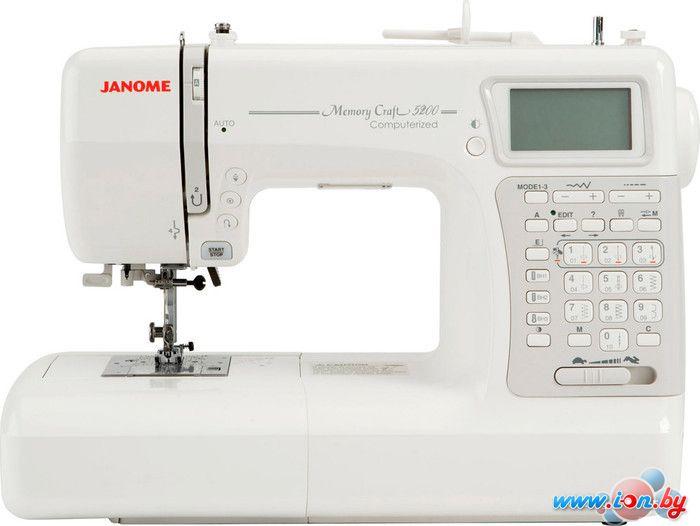 Швейная машина Janome Memory Craft 5200 в Могилёве