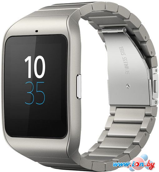 Умные часы Sony SmartWatch 3 SWR50 (серебристый) в Могилёве