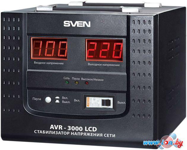 Стабилизатор напряжения SVEN AVR-3000 LCD в Могилёве