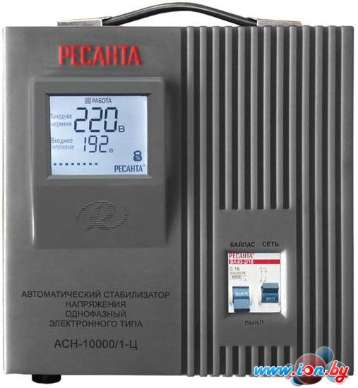 Стабилизатор напряжения Ресанта АСН-10000/1-Ц в Могилёве