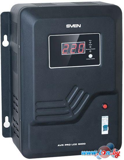 Стабилизатор напряжения SVEN AVR PRO LCD 5000 в Могилёве