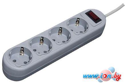 Сетевой фильтр Defender ES Lite 4 розетки, серый, 1.8 м в Могилёве