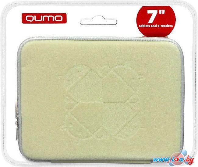 Чехол для планшета QUMO Универсальный Velour 7 (4:3) white 2 (18432) в Могилёве