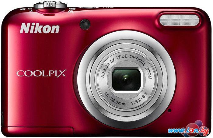 Фотоаппарат Nikon Coolpix A10 (красный) в Могилёве