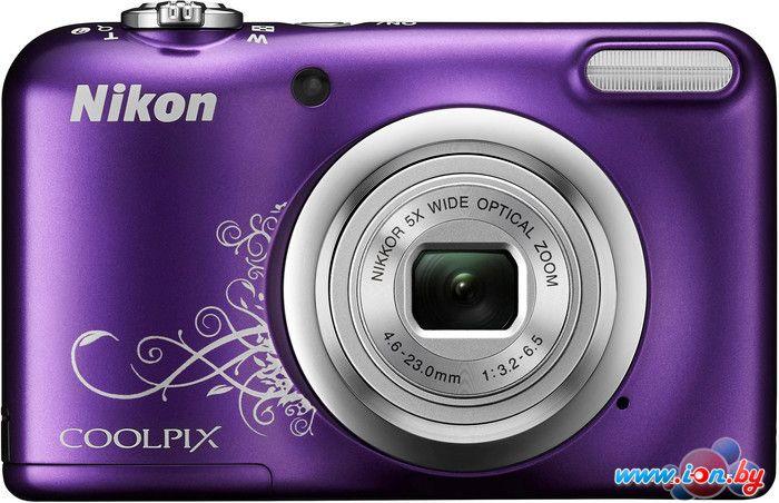Фотоаппарат Nikon Coolpix A10 (фиолетовый с графикой) в Могилёве