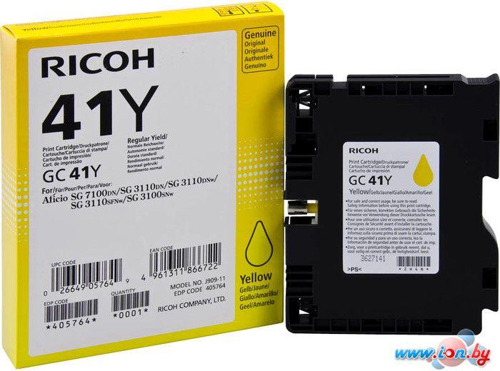 Картридж для принтера Ricoh GC 41Y (405764) в Могилёве