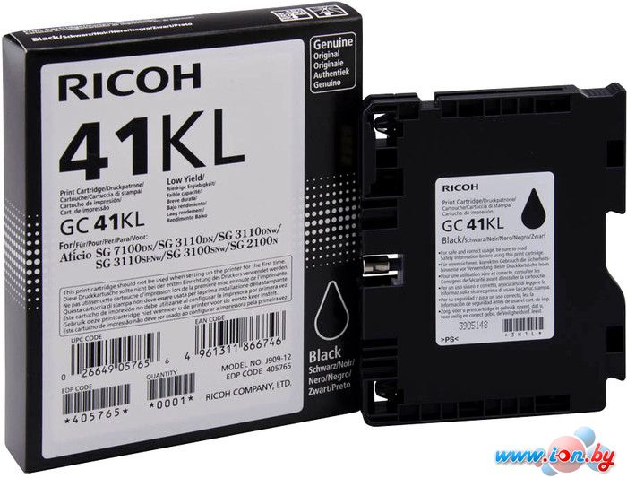 Картридж для принтера Ricoh GC 41KL (405765) в Могилёве