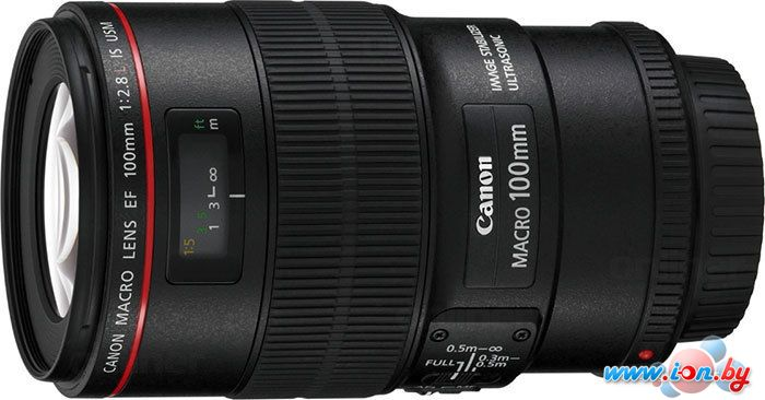 Объектив Canon EF 100mm f/2.8L Macro IS USM в Могилёве