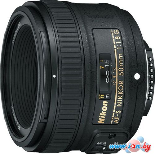 Объектив Nikon AF-S NIKKOR 50mm f/1.8G в Могилёве