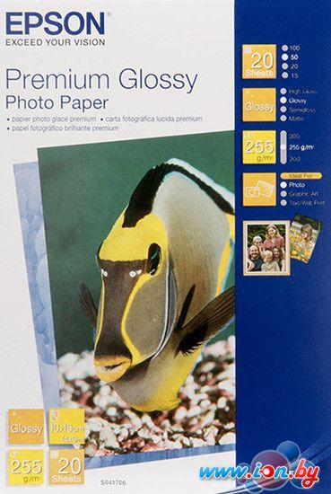 Фотобумага Epson Premium Glossy Photo Paper 10x15 20 листов (C13S041706) в Могилёве
