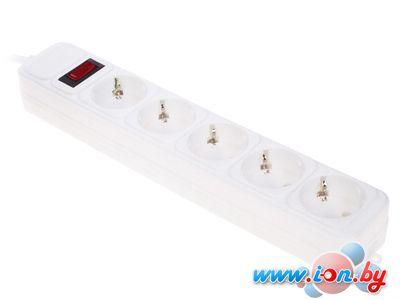 Сетевой фильтр DEXP Optimus 518 W 5 розеток, 1.8 м, белый в Могилёве