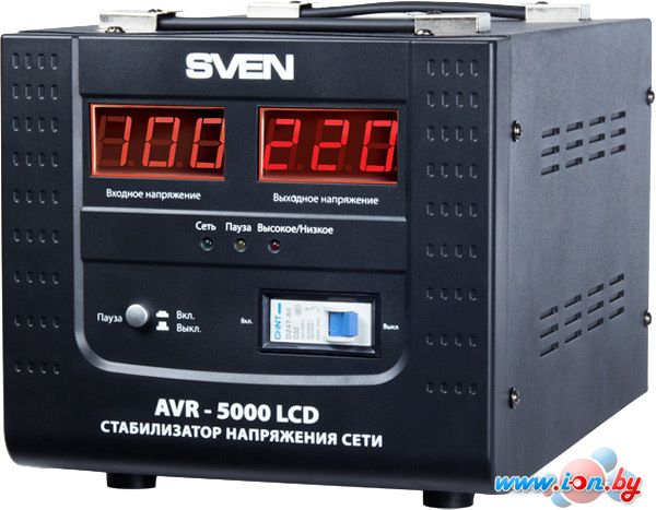 Стабилизатор напряжения SVEN AVR-5000 LCD в Могилёве
