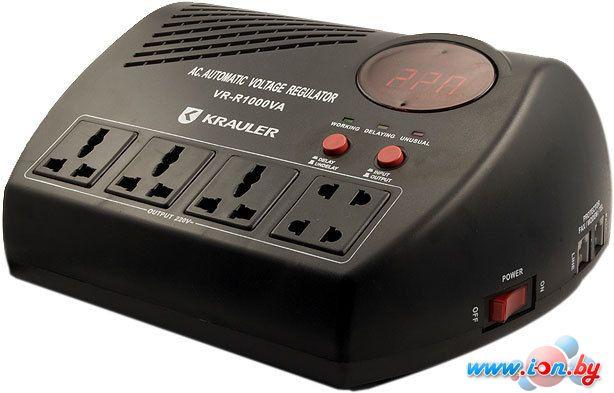 Стабилизатор напряжения Krauler VR-R1000VA (Black) в Могилёве