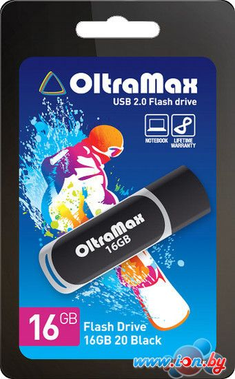 USB Flash Oltramax 20 Black 16GB в Могилёве