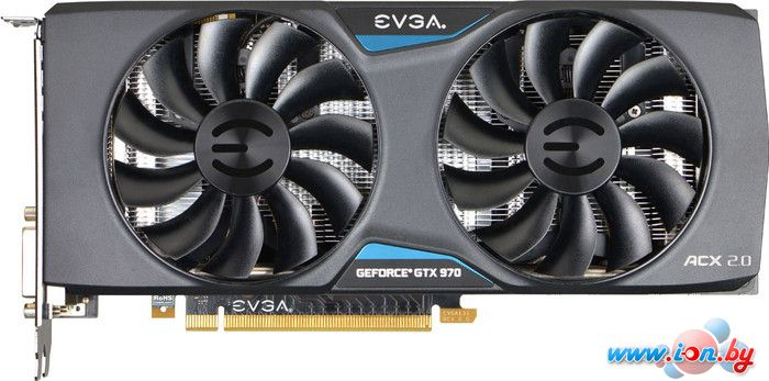 Видеокарта EVGA GeForce GTX 970 Superclocked 4GB GDDR5 (04G-P4-2974-KR) в Могилёве