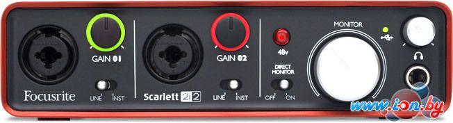 Аудиоинтерфейс Focusrite Scarlett 2i2 в Могилёве