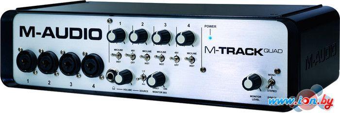 Аудиоинтерфейс M-Audio M-Track QUAD в Могилёве