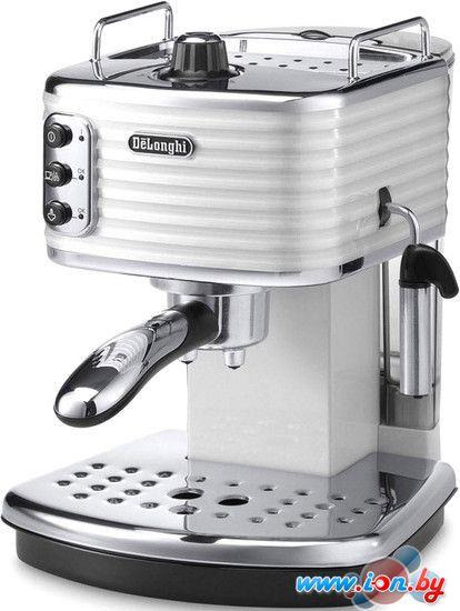 Рожковая кофеварка DeLonghi Scultura ECZ 351.W в Могилёве