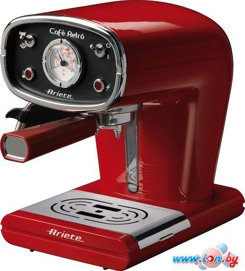 Рожковая кофеварка Ariete Retro 1388 Red в Могилёве