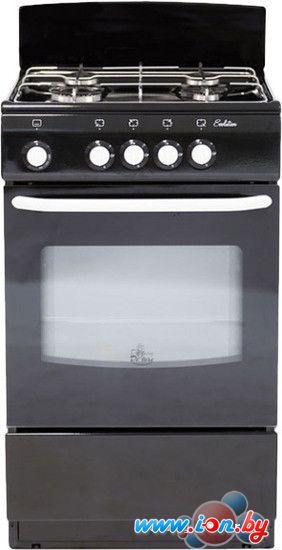Кухонная плита De luxe 5040.38Г (Щ) (черный) в Могилёве