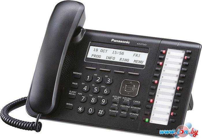 Проводной телефон Panasonic KX-DT543 Black в Могилёве