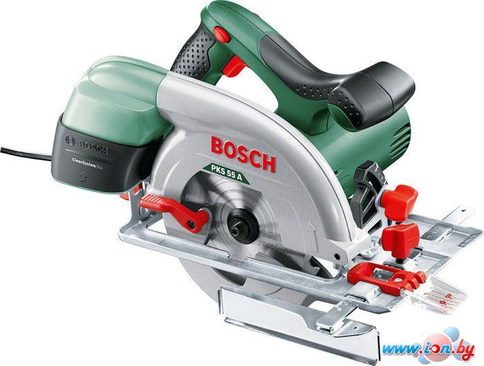 Дисковая пила Bosch PKS 55 A (0603501002) в Могилёве