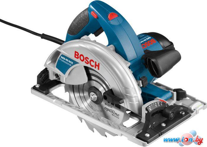 Дисковая пила Bosch GKS 65 GCE Professional (0601668901) в Могилёве