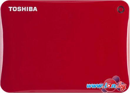 Внешний жесткий диск Toshiba Canvio Connect II 3TB Red (HDTC830ER3CA) в Могилёве