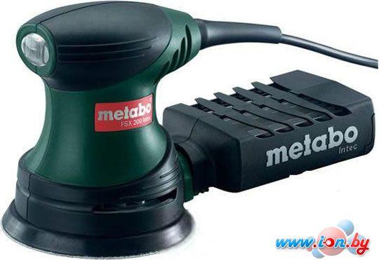 Эксцентриковая шлифмашина Metabo FSX 200 Intec в Могилёве