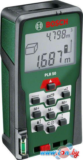Лазерный дальномер Bosch PLR 50 (0603016320) в Могилёве