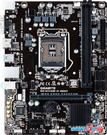 Материнская плата Gigabyte GA-H110M-H DDR3 (rev. 1.0) в Могилёве