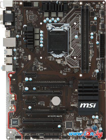 Материнская плата MSI H110 PC MATE в Могилёве