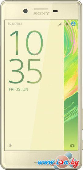Смартфон Sony Xperia X Lime Gold в Могилёве
