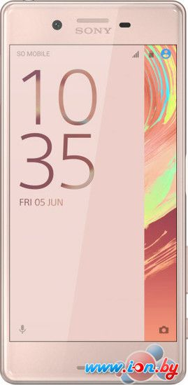 Смартфон Sony Xperia X Rose Gold в Могилёве